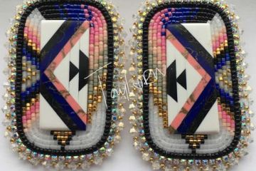Beaded Earrings by Taylor Wilkinson